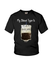 Coffee My Blood Youth T-Shirt thumbnail
