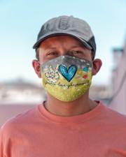 Pharmacist Peace Love T827 Cloth face mask aos-face-mask-lifestyle-06