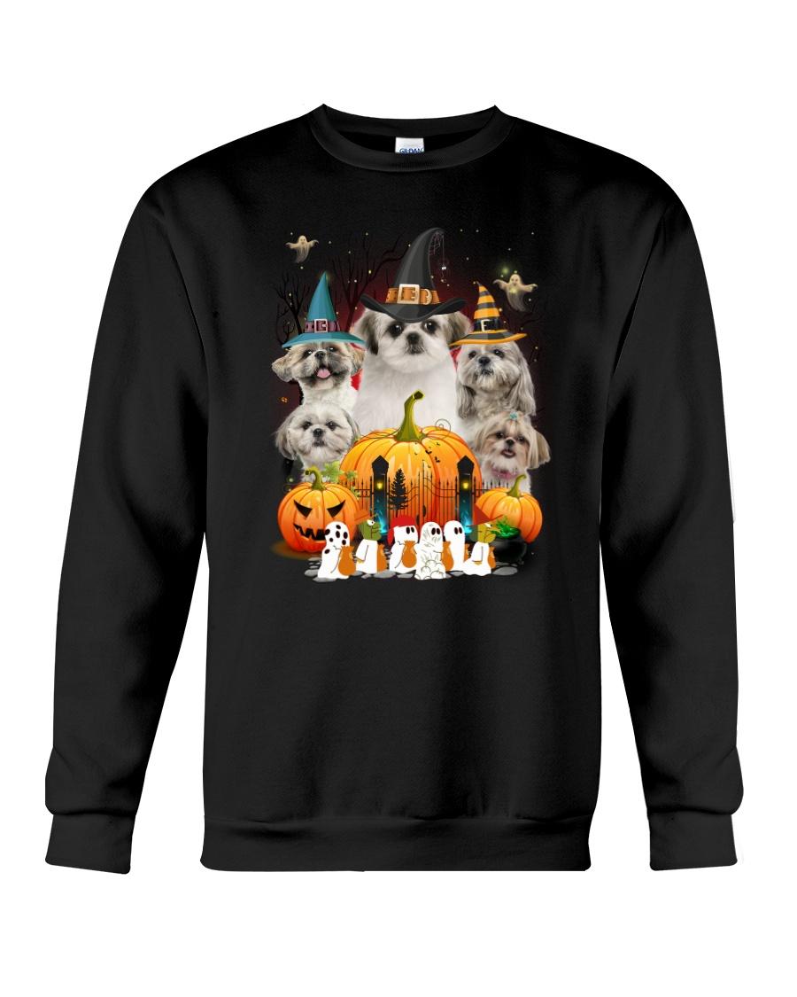 Shih Tzu Great Pumpkin Crewneck Sweatshirt
