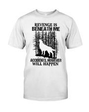 Wolf - Revenge Classic T-Shirt front