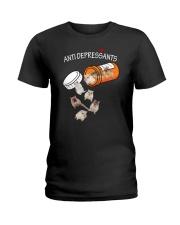 Gerbil Anti Ladies T-Shirt thumbnail