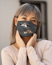 Saint Bernard Striped T821 Cloth face mask aos-face-mask-lifestyle-17