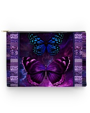 Butterfly Purple TJ1901 Accessory Pouch - Large thumbnail