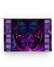 Butterfly Purple TJ1901 Accessory Pouch tile