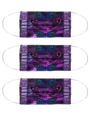 Butterfly Purple TJ1901 Cloth Face Mask - 3 Pack front