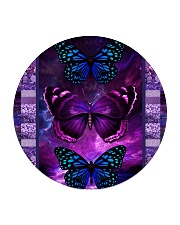 Butterfly Purple TJ1901 Circle Coaster tile