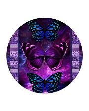 Butterfly Purple TJ1901 Circle Coaster thumbnail