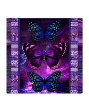 Butterfly Purple TJ1901 Square Coaster thumbnail