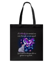 Elephant and Butterflies Tote Bag thumbnail