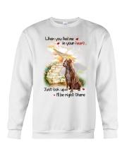 American Pit Bull Terrier Look Up Crewneck Sweatshirt thumbnail