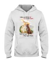 American Pit Bull Terrier Look Up Hooded Sweatshirt thumbnail