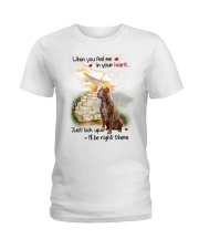 American Pit Bull Terrier Look Up Ladies T-Shirt thumbnail