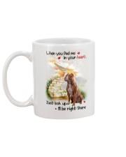 American Pit Bull Terrier Look Up Mug back