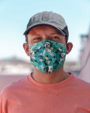 Dalmatian Tropical H31717 Cloth face mask aos-face-mask-lifestyle-06