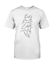 Cat Drawing Classic T-Shirt front