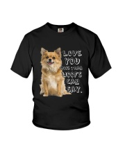 Chihuahua Love You More Than Woofs T5TS Youth T-Shirt thumbnail