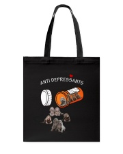 Weimaraner Anti Tote Bag thumbnail