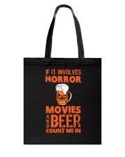 Halloween - Horror - Beer Tote Bag thumbnail