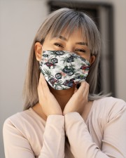 Motorbike Tropical Vintage H31742 Cloth face mask aos-face-mask-lifestyle-17