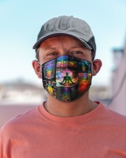 Yoga Meditation T825 Cloth face mask aos-face-mask-lifestyle-06