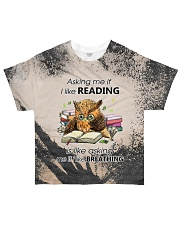 I Like Reading T5TS All-over T-Shirt front