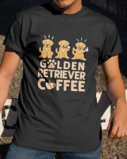 GOLDEN RETRIEVER COFFEE Classic T-Shirt apparel-classic-tshirt-lifestyle-28