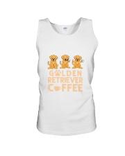 GOLDEN RETRIEVER COFFEE Unisex Tank thumbnail