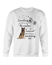German Shepherd Memory Crewneck Sweatshirt thumbnail