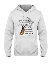 German Shepherd Memory Hooded Sweatshirt thumbnail