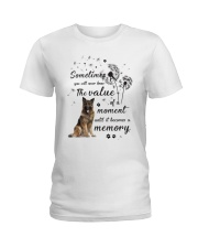 German Shepherd Memory Ladies T-Shirt thumbnail