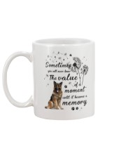 German Shepherd Memory Mug back