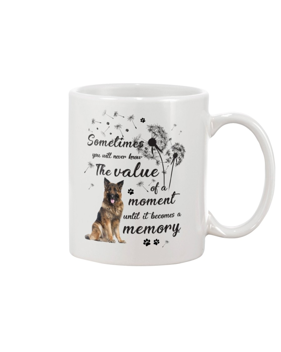 German Shepherd Memory Mug