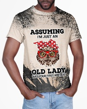 Old Lady T5TS All-over T-Shirt aos-all-over-T-shirt-lifestyle-front-03