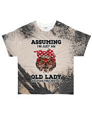 Old Lady T5TS All-over T-Shirt front