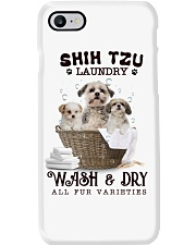 Shih Tzu Camp Mau White Phone Case thumbnail