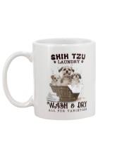 Shih Tzu Camp Mau White Mug back