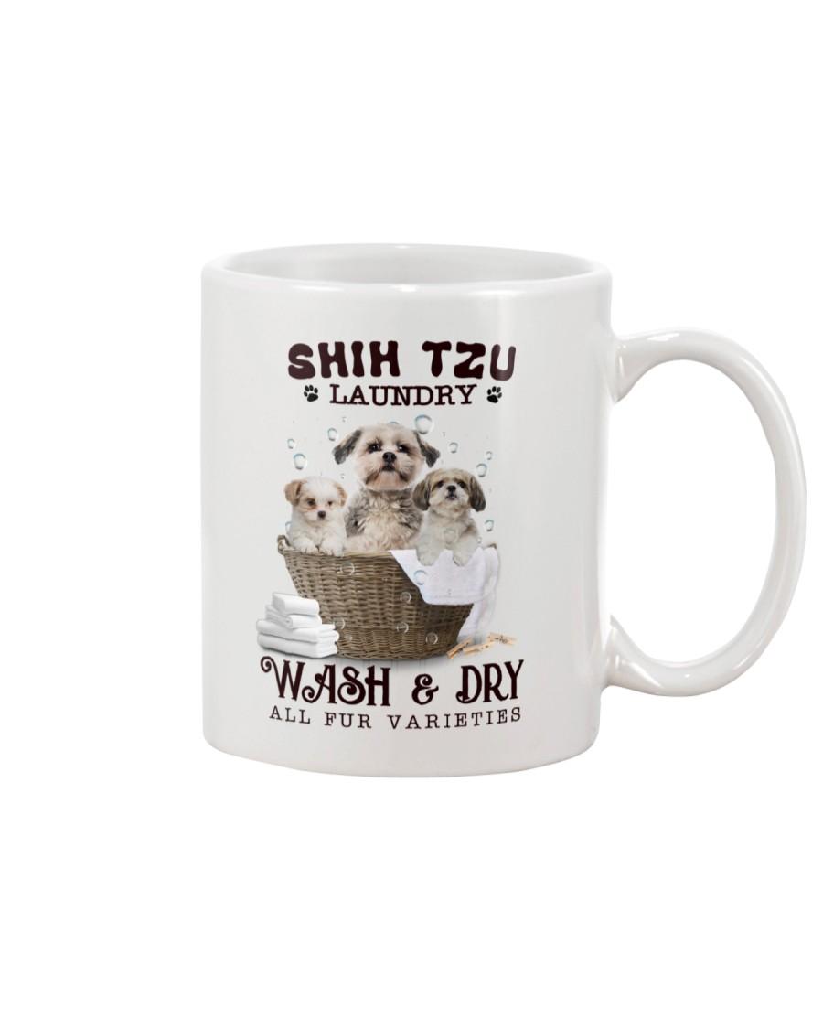 Shih Tzu Camp Mau White Mug