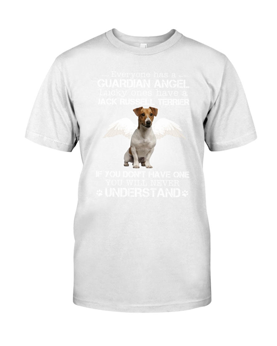 Jack Russell Terrier camp mau white Classic T-Shirt
