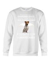 Jack Russell Terrier camp mau white Crewneck Sweatshirt thumbnail