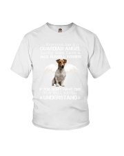 Jack Russell Terrier camp mau white Youth T-Shirt thumbnail
