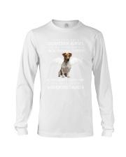 Jack Russell Terrier camp mau white Long Sleeve Tee thumbnail