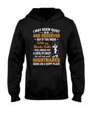 Border Collie Nightmare Hooded Sweatshirt thumbnail