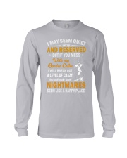 Border Collie Nightmare Long Sleeve Tee thumbnail