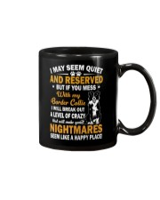 Border Collie Nightmare Mug thumbnail