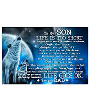 Family Son Life Is Go On 17x11 Poster front