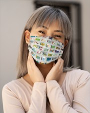 Book Colorful T824 Cloth face mask aos-face-mask-lifestyle-17