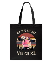 Cow Why Oh You T5TW Tote Bag thumbnail