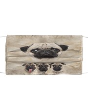Awesome Pug G82716 Cloth face mask front