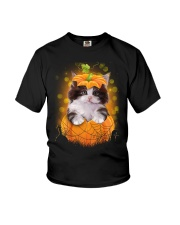 NYX - CAT HALLOWEEN CUTE - 2808 - 87 Youth T-Shirt tile