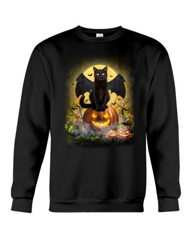 Halloween Black cat - I am a bat